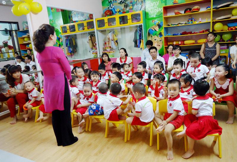 giáo viên mầm non là gì