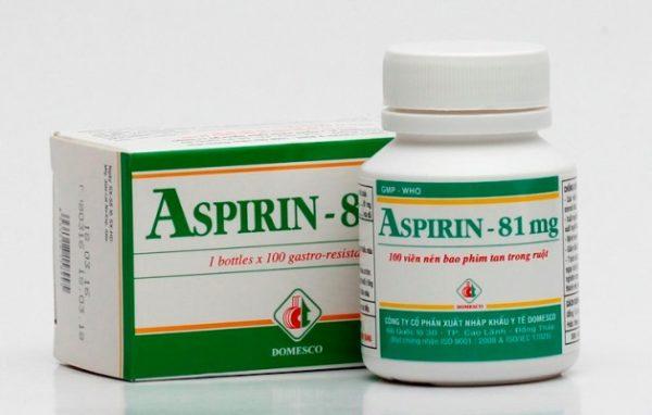 thuốc aspirin 81 mg